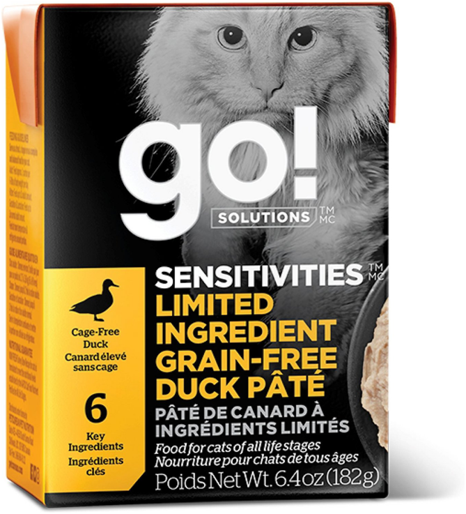 GO! Sensitivity+Shine Duck Cat Recipe