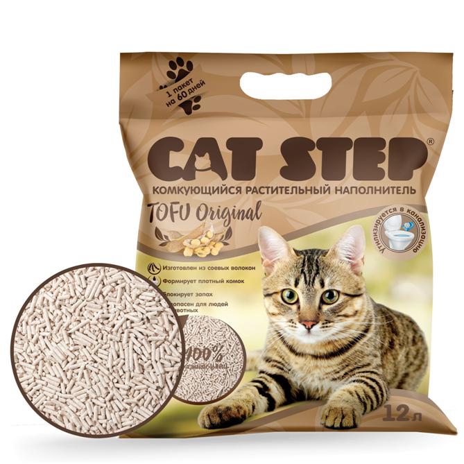 Cat Step Tofu Original растительный