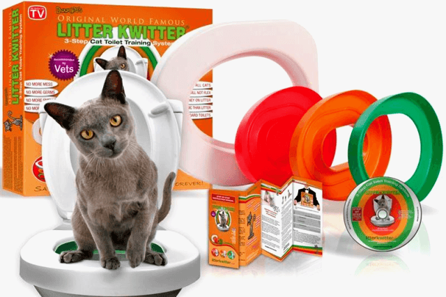 приспособление для приучения кота к унитазу разъемное