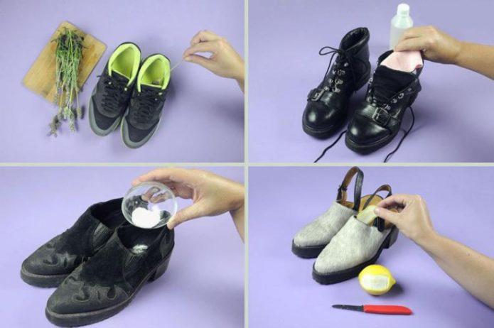 как вывести запах кошачьей мочи из обуви народными средствами