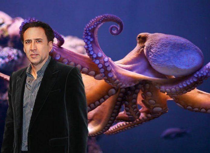 Николас Кейдж и его осьминог